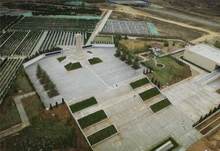 烟台开发区烈士陵园纪念馆建筑和景观